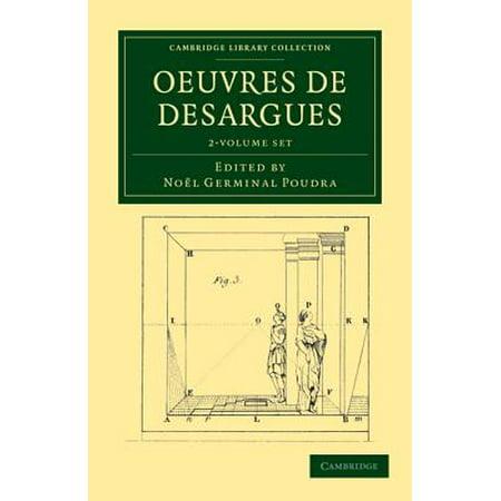 Oeuvres de Desargues - 2 Volume - Oeuvre Set