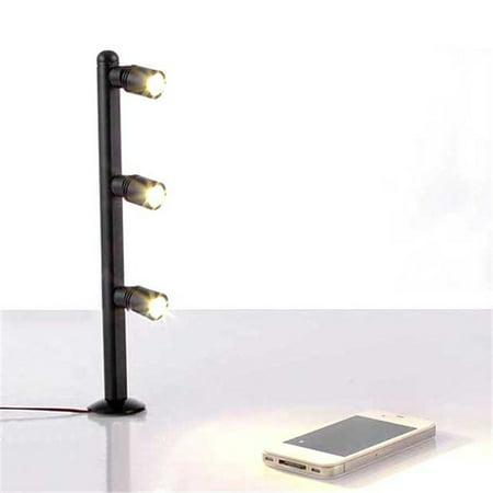 2W 3W Jewelry Display Showcase LED Upright Pole Light Shop Desk Make-up Spot Lamp