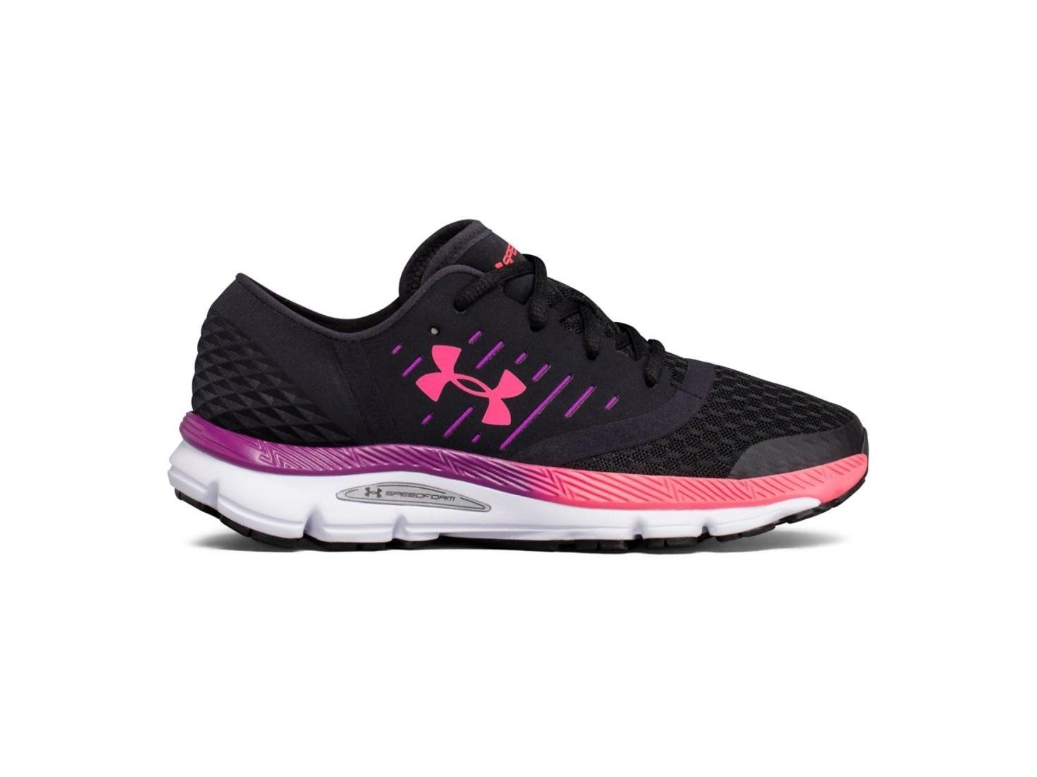 Under Armour Womens Speedform intake Low Top Lace Up Running Sneaker