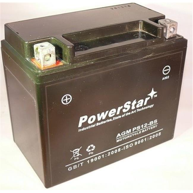 PowerStar PS12-BS-022 Suzuki Gsf1200 Replacement Motorcycle Battery