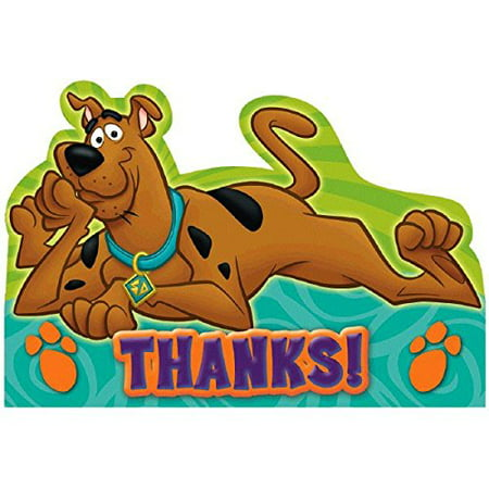 scooby-doo postcard thank you cards (Postcard Thank You Cards)