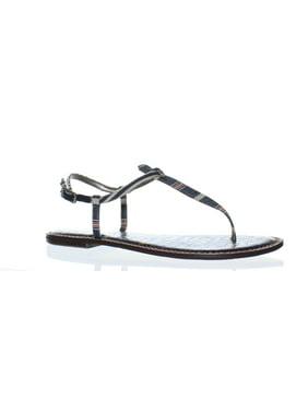 f0bf49f6c8c0e Product Image Sam Edelman Womens Gigi Blue T-Strap Sandals Size 10