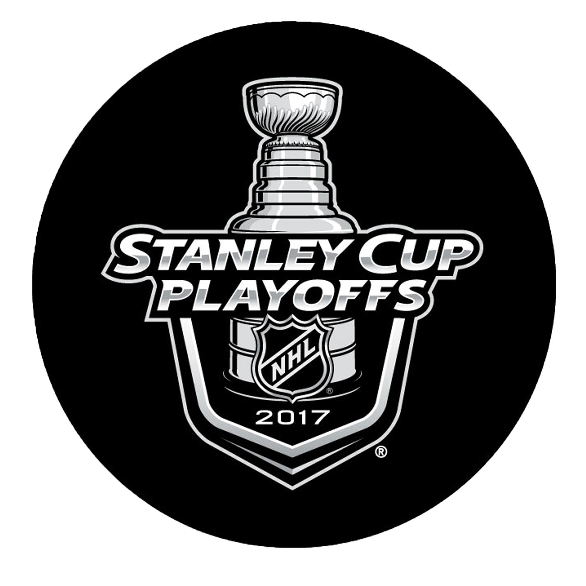Sher-Wood 2017 NHL Stanley Cup Playoffs Puck - No Size