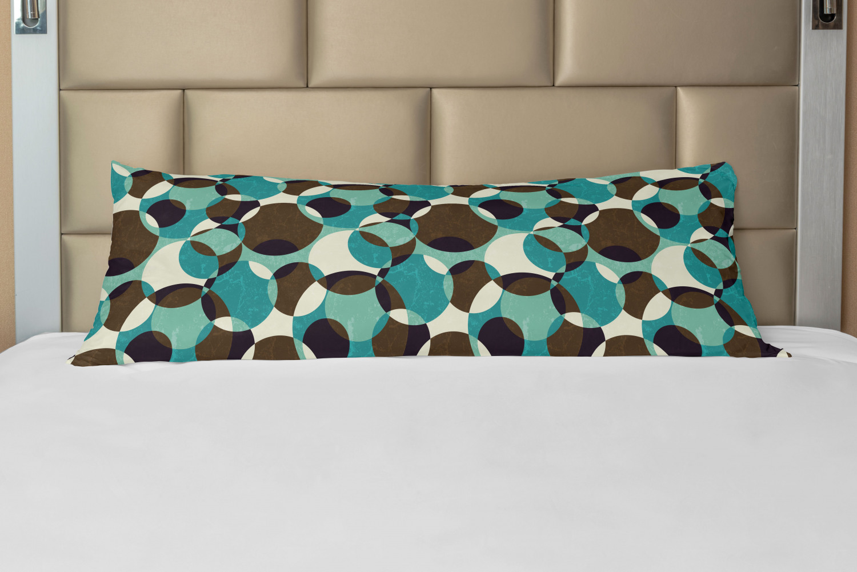 Home Living Ideas Pillow Case Digital Print Circles 40 x 40 cm rose