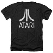 Atari - Rough Logo - Heather Short Sleeve Shirt - Medium