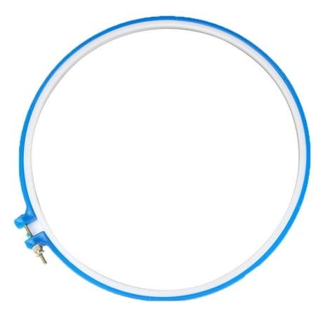 Cross Stitch Hoop Plastic Frame Embroidery Hoop Ring DIY Needlecraft Machine Round Loop Hand Sewing Tools Hoop Round Ring