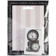 LaBlanche Silicone Stamp, 2 by 3-Inch, Clockworks Multi-Colored