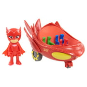 PJ Masks Vehicle - Owl Glider & Owlette Figure