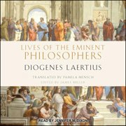 Lives of the Eminent Philosophers - Audiobook