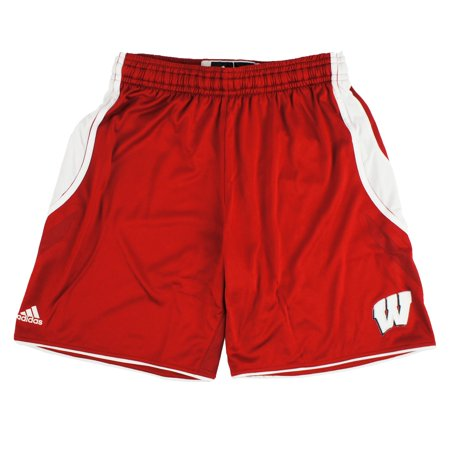 - Wisconsin Badgers NCAA Adidas Women's Red ClimaChill Shorts