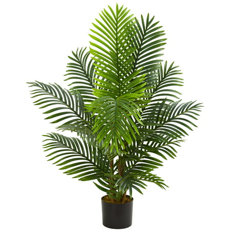 Nearly Natural 4' Paradise Palm Artificial Tree ()