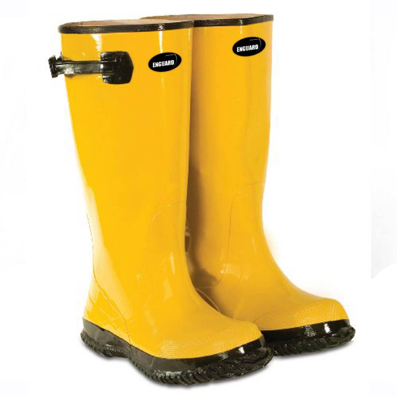 Image of Enguard Yellow Slush Boots Size 18