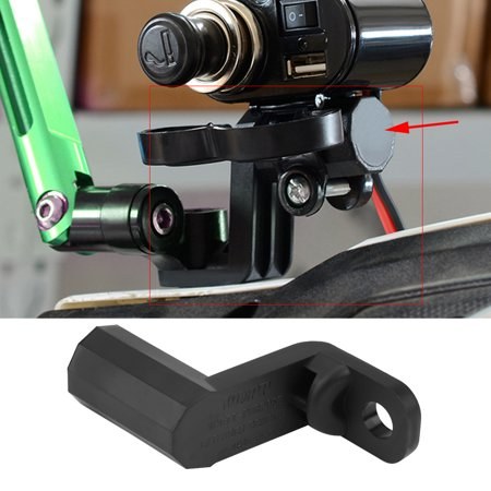 Gpx Mirrors - Motorcycle Multi-functional Rearview Mirror Mount Extension Holder Bracket for Cell Phone GPS , Cell Phone Holder,Motorcycle Holder