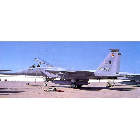 LAMINATED POSTER 555th Tactical Fighter Training SquadronMcDonnell Douglas F-15A-13-MC Eagle 75-038 to AMARC as FH Poster Print 24 x 36