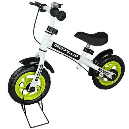 Goplus 10'' Kids Balance Bike No-Pedal Learn To Ride Pre Bike Adjustable Seat Bike Stand](2 In 1 Balance Bike)