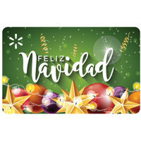 Feliz Navidad Walmart Gift Card