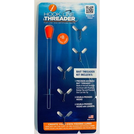 Complete Hook, Line & Threader Kits. Choose from 7 Different Hook