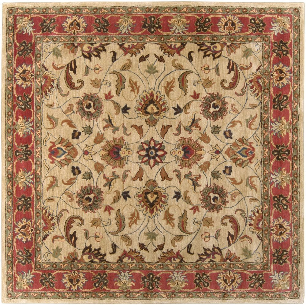 Traditional Corinne Collection Area Rug in Multiple Color and Oval, Rectangle, Round, Runner Shape