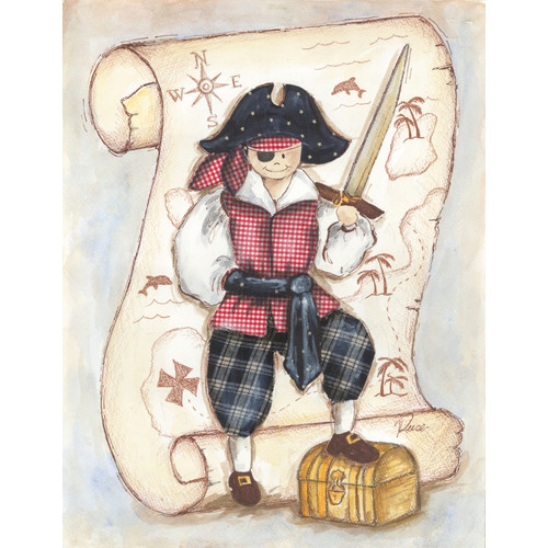 Renditions by Reesa Pirate Wall Plaque