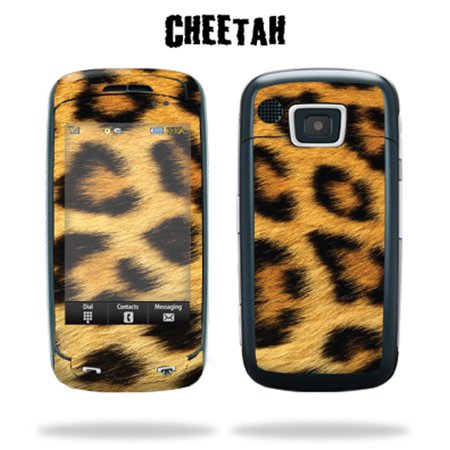 Mightyskins Protective Vinyl Skin Decal Cover For Samsung Impression Sgh A877 Cell Phone Wrap Sticker Skins    Cheetah