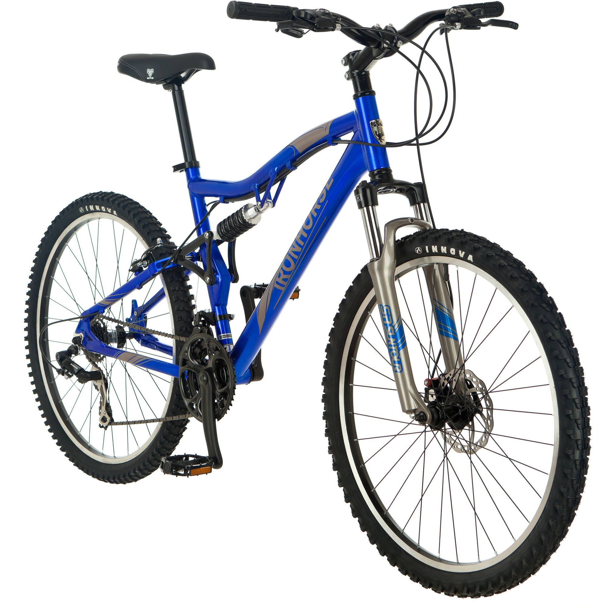 "26"" Iron Horse Men's Warrior 3.1 Bike, Blue"