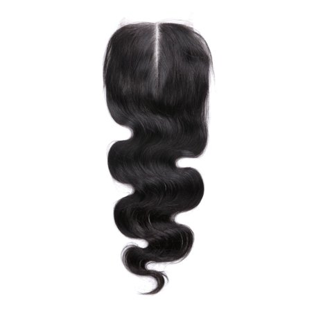 Brazilian Human Hair Body Wave 4x4 Lace Closure 16