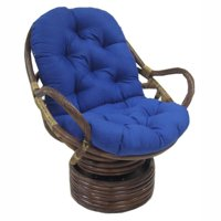 Blazing Needles 48 x 24 in. Swivel Rocker Outdoor Cushion