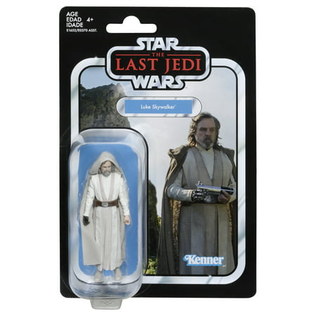 Star Wars The Vintage Collection Luke Skywalker (Jedi Master) 3.75-inch Figure - Star Wars Kids Gifts