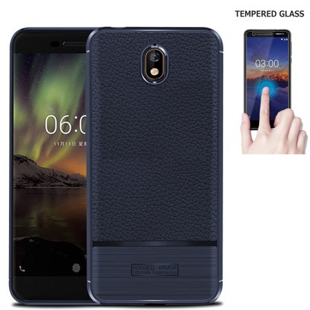 Screen Protector for NOKIA 3.1 Phone Case, Nokia 3.1 Case (5.2