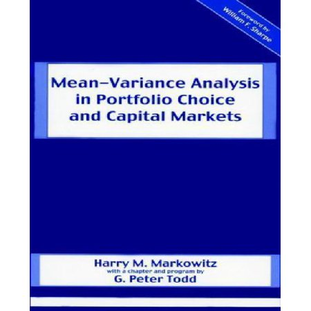 Mean Variance Analysis In Portfolio Choice And Capital Markets