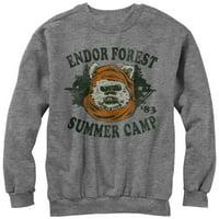 Star Wars Ewok Summer Camp Mens Graphic Sweatshirt