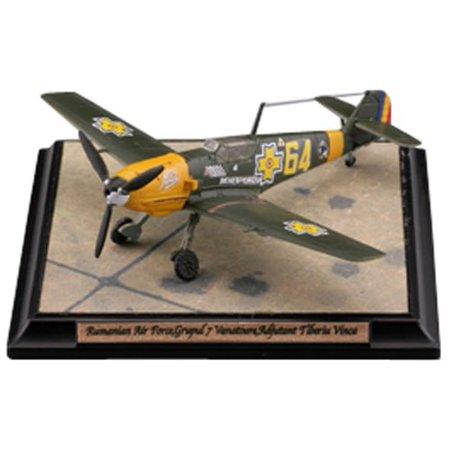 Tomytec 1/144 Messerschmitt Bf109 E-3 Romanian Air Force  Pre-Painted Plastic Model