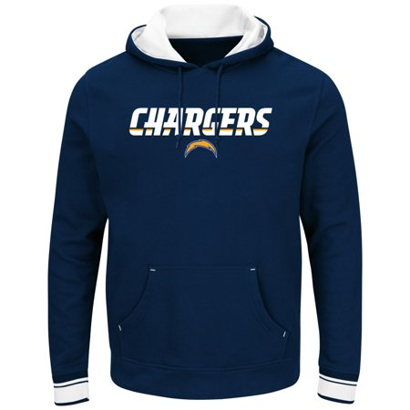 "San Diego Chargers Majestic NFL ""Championship"" Mens Pullover Hooded Sweatshirt by"