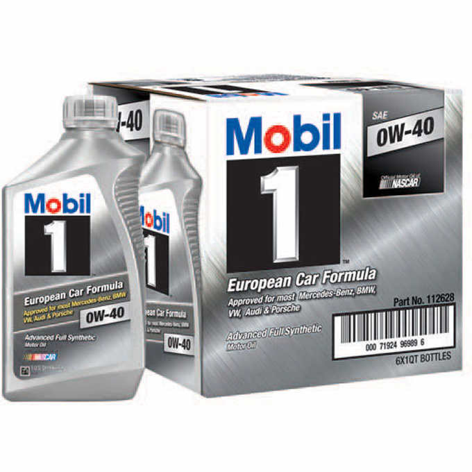 Mobil 1 Advanced Full Synthetic Motor Oil 0w 40 Walmart Com