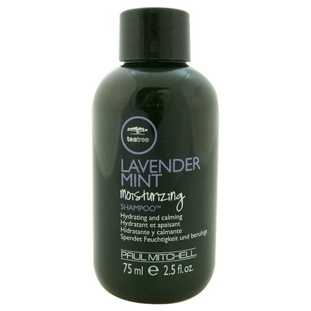 Tea Tree Lavender Mint Moisturizing Shampoo, By Paul Mitchell - 2.5 Oz - Paul Mitchell Lavender Mint Shampoo