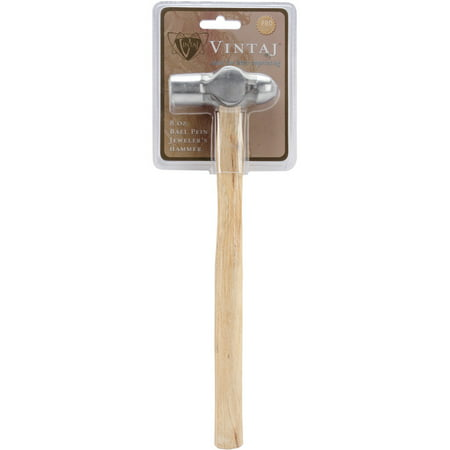 Ball Pein Jeweler's Hammer, 8oz, 11