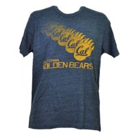 NCAA California Golden Bears Repeat Logo Tshirt Tee Mens Navy Short Sleeve XLarg