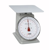 Winco SCAL-840 40-Pound/18.18kg Scale with 8-Inch Dial