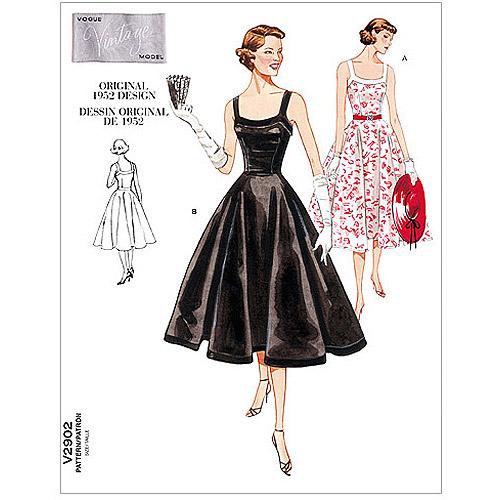 Vogue Pattern Misses' and Misses' Petite Dress, A (6, 8, 10)