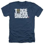 Judge Dredd - Logo - Heather Short Sleeve Shirt - X-Large