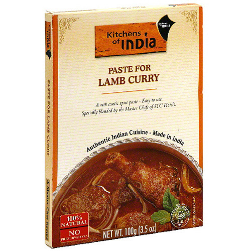 Kitchens Of India Paste For Lamb Curry Mix, 3.5 oz  (Pack of 6)