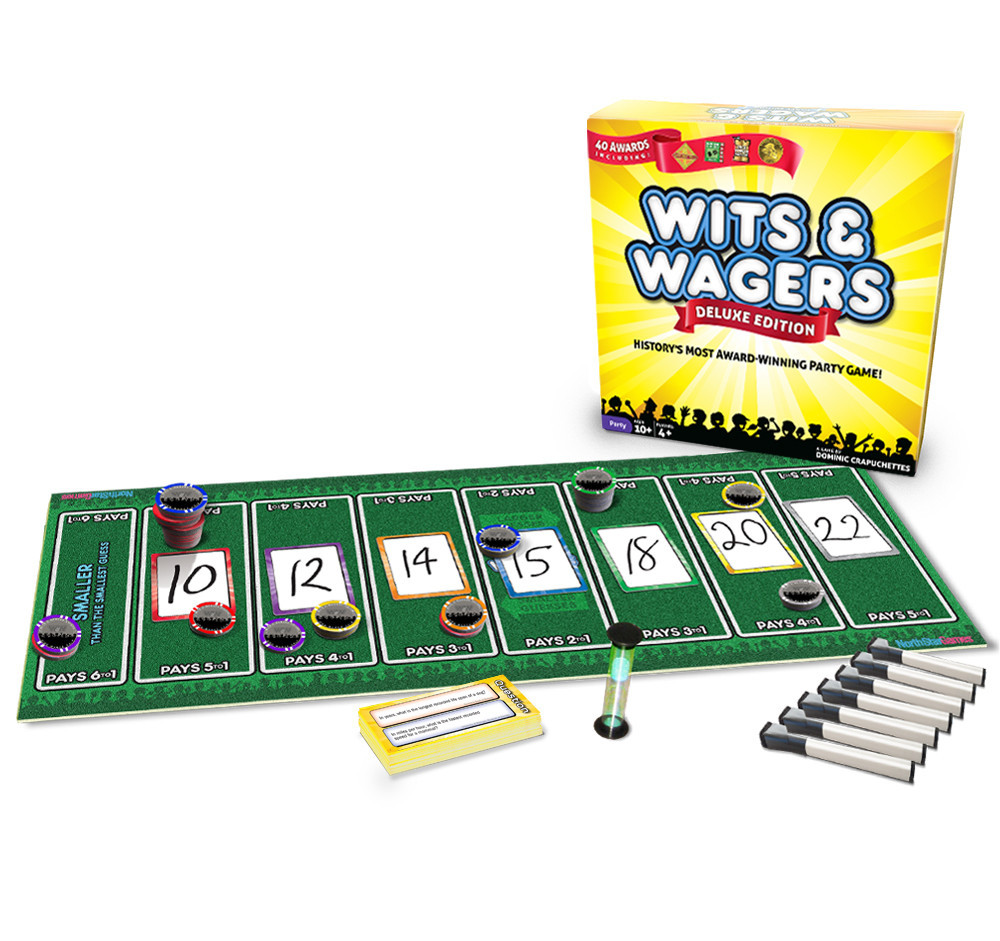 Wits And Wagers Deluxe Party Edition Game