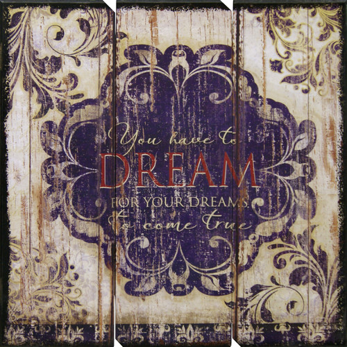HDC International 'Dream' Textual Art Plaque