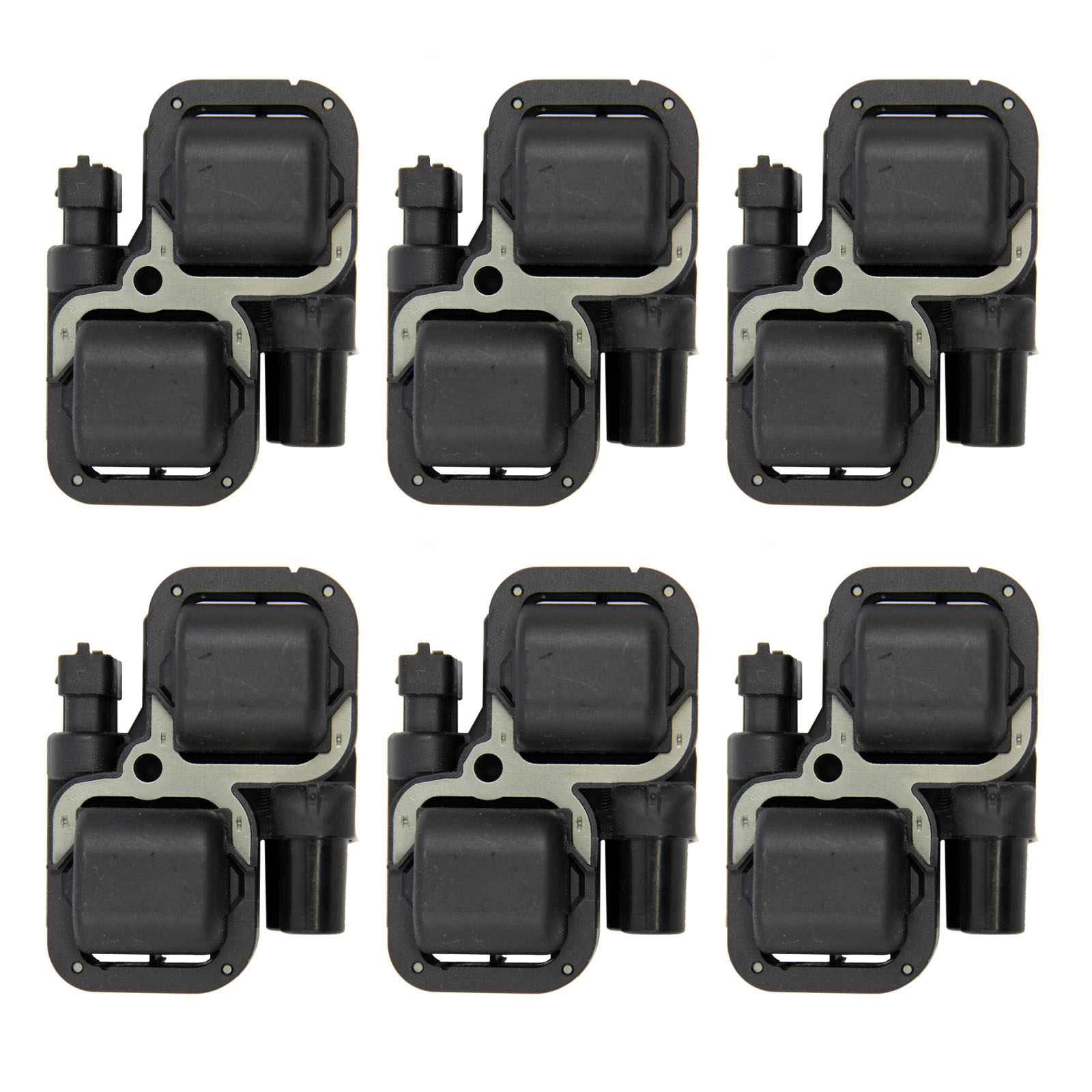 AURELIO TECH Set of 6 Ignition Coils on Plug Pack For Mercedes-Benz SLK55 AMG Chrysler UF359