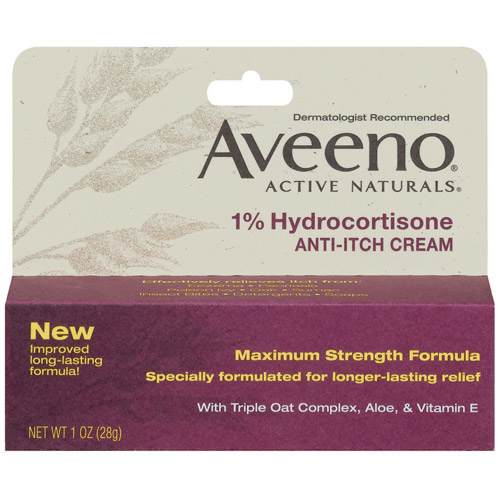Aveeno Anti-Itch 1% Hydrocortisone Anti-Itch Cream, Tube 1 oz.