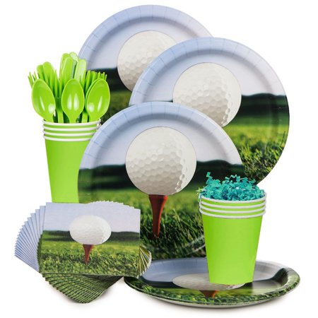 Golf Standard Kit (Serves 8) - Party Supplies