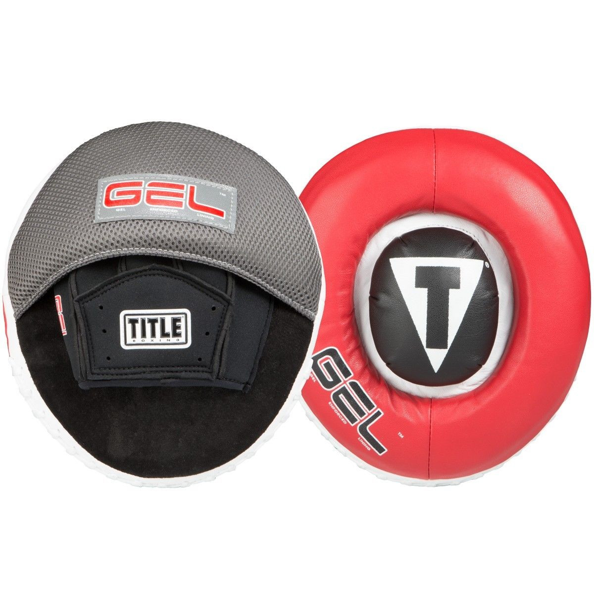 TITLE Boxing Gel Assault Target Punch Mitts by