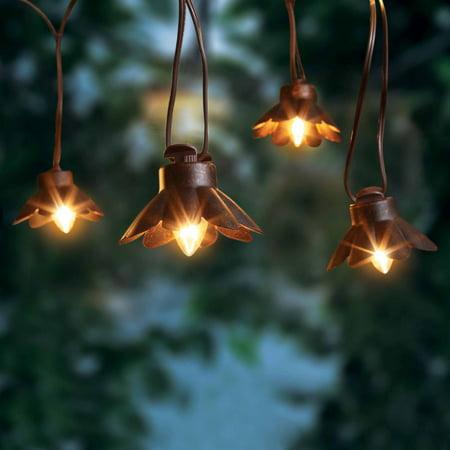 Better Homes And Gardens Bronze Metal Lantern Lights 10 Count