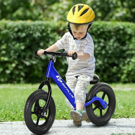 Goplus 12'' Balance Bike Classic Kids No-Pedal Learn To Ride Pre Bike w/ Adjustable