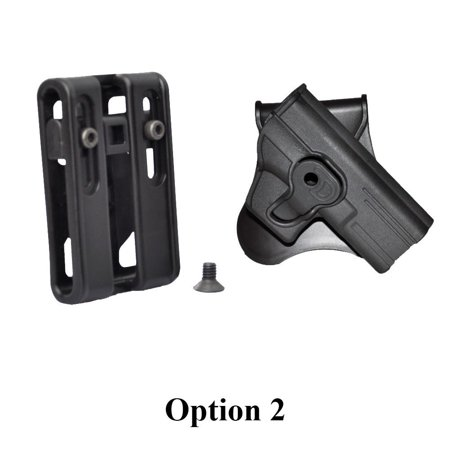 Tactical Scorpion CZ 75SP-01 Shadow Modular Level II Retention Paddle Holster